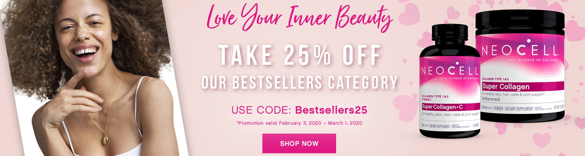 Love Your Inner Beauty! Take 25% OFF Our Bestsellers Category. Use Code: BESTSELLERS25. Shop Now!